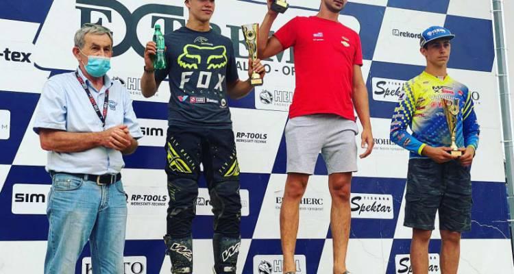 Hrvoje Karas prvak Hrvatske u supercrossu
