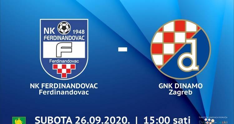 U subotu nogometni spektakl NK Ferdinandovac - GNK Dinamo
