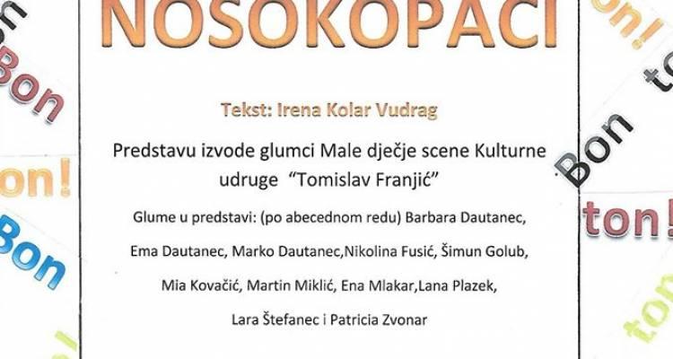 """[ADVENT NA DRAVSKIM PESKIMA] Premijera predstave """"Nosokopači"""""""