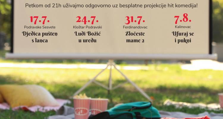 U petak 17.7. počinje Dergez ljetna kino karavana - kino na otvorenom