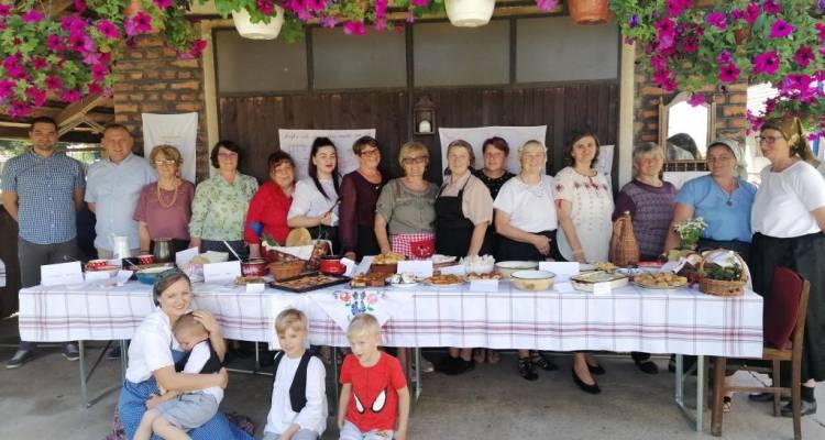 [ZABORAVLJENI RECEPTI S PODRUČJA DRAVSKI PESKI] Članice Udruge žena Kloštar Podravski spremale tradicionalna Kloštranska jela