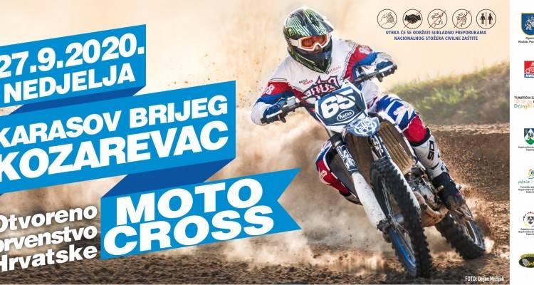 Otvoreno prvenstvo Hrvatske u motocrossu na stazi Karasov brijeg u Kozarevcu 27. rujna
