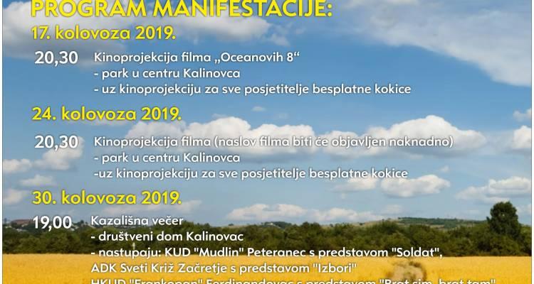 """U sklopu """"Ljeta na Dravskim peskima"""" ovoga vikenda počinje i """"Leto v Kalnovcu"""""""