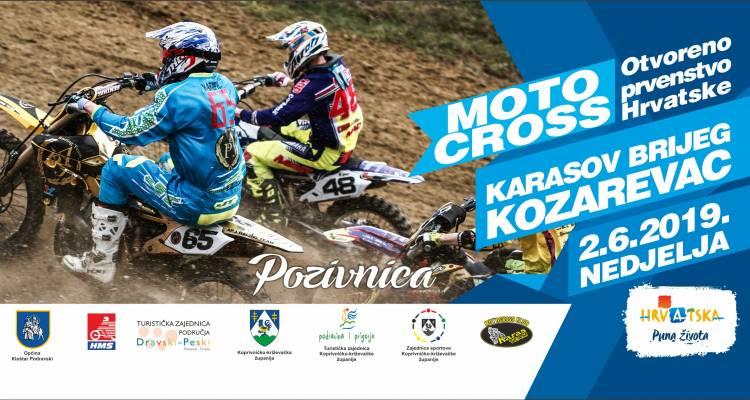 NAJAVA Otvoreno prvenstvo Hrvatske u motocross i quad disciplini