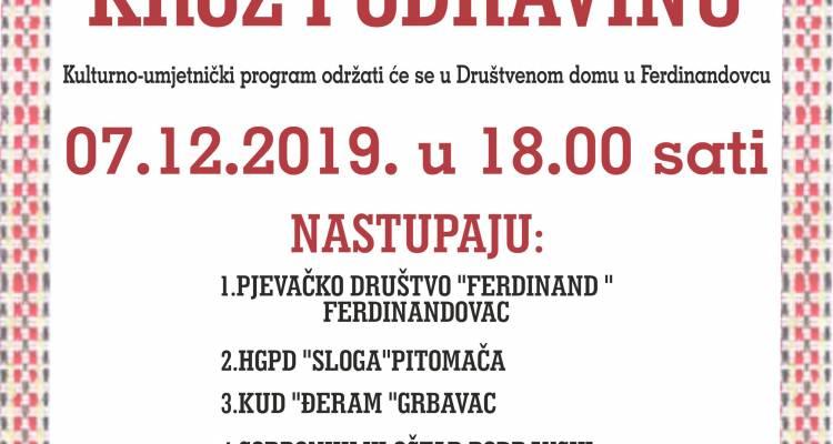 [ADVENT NA DRAVSKIM PESKIMA] Pjesmom i plesom kroz Podravinu
