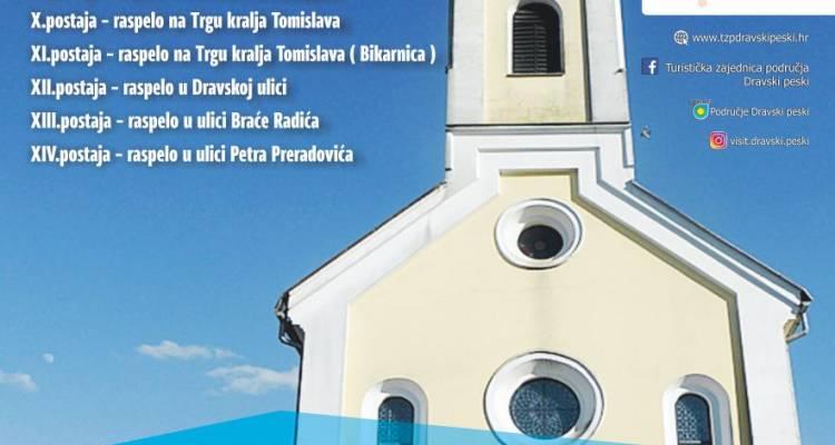 [NAJAVA] 1. Križni put Župe Svih Svetih Podravske Sesvete